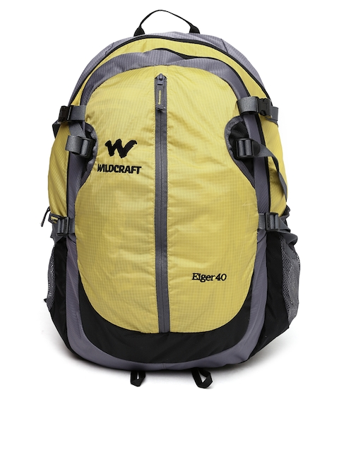 Wildcraft Unisex Yellow & Grey Eiger Rucksack