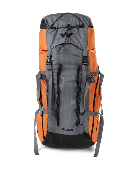 Wildcraft Unisex Orange Savan D Plus Rucksack