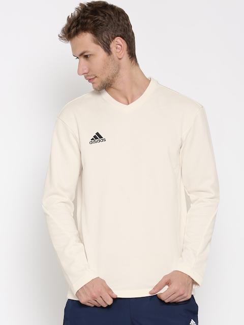 Adidas Off-White LS Cricket Sweatshirt