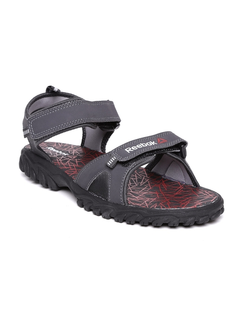 Reebok Men Charcoal Grey Aztrix Sports Sandals  available at myntra for Rs.1399
