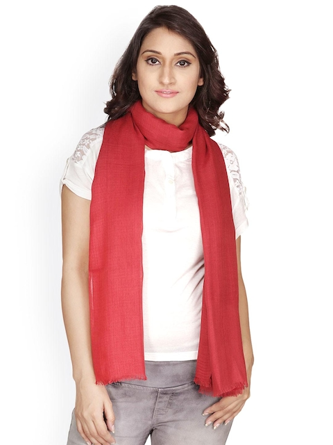Anekaant Red Stole
