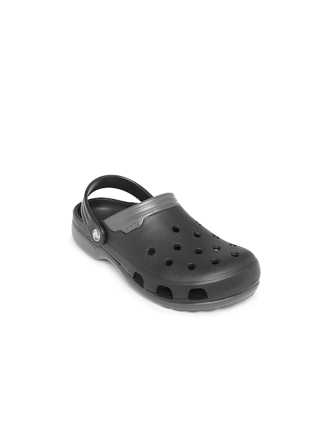 Crocs Unisex Grey Duet Clogs