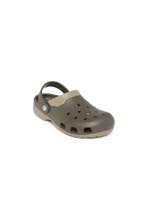 Crocs Unisex Brown Duet Clogs