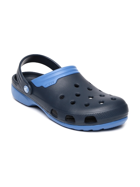 Crocs Unisex Navy Duet Clogs