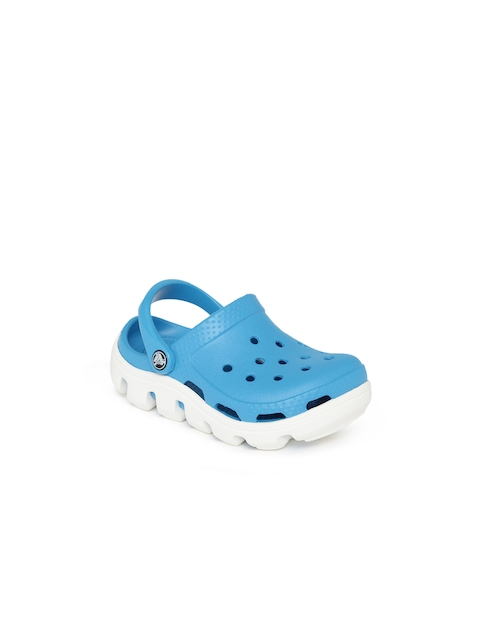 Crocs Kids Blue Duet Sport Clogs