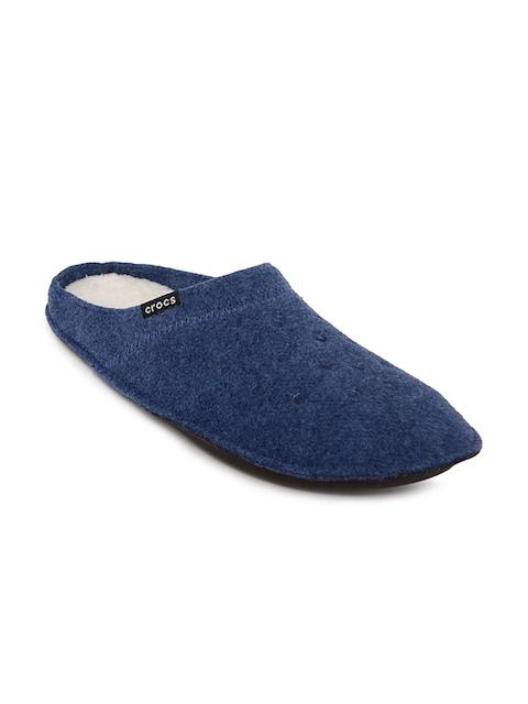 Crocs Unisex Blue Classic Slippers