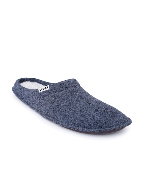 Crocs Unisex Navy Classic Slippers