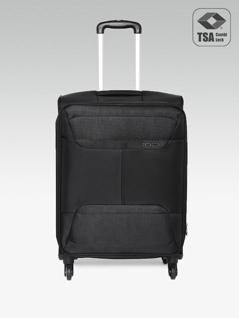 Samsonite Unisex Black Medium Casso Spinner Trolley Bag