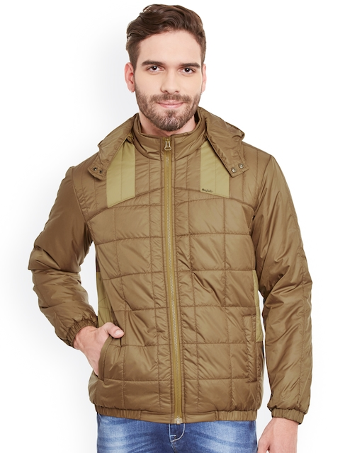 Canary London Brown Quilted Hooded Jacket