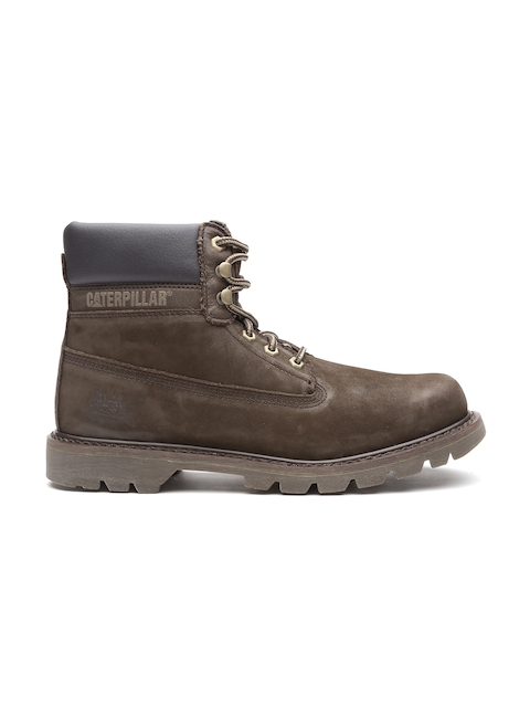 CAT Men Brown Colorado Leather Boots