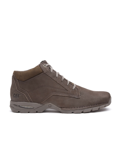 CAT Men Brown Vance Leather Casual Shoes