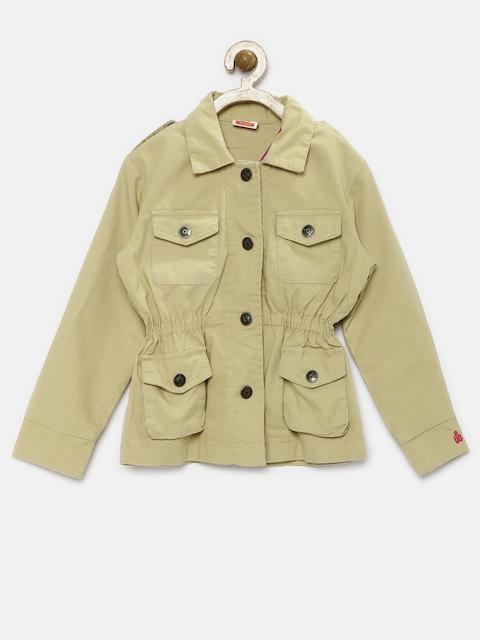 UFO Girls Beige Jacket