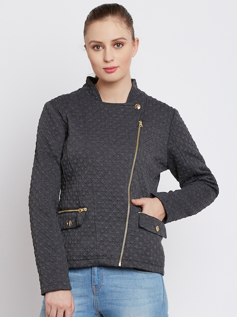 Fort Collins Charcoal Grey Quilted Jacket