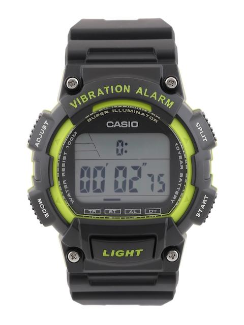 Casio Youth W-736H-3AVDF (I104) Digital Black Dial Men's Watch (W-736H-3AVDF (I104))