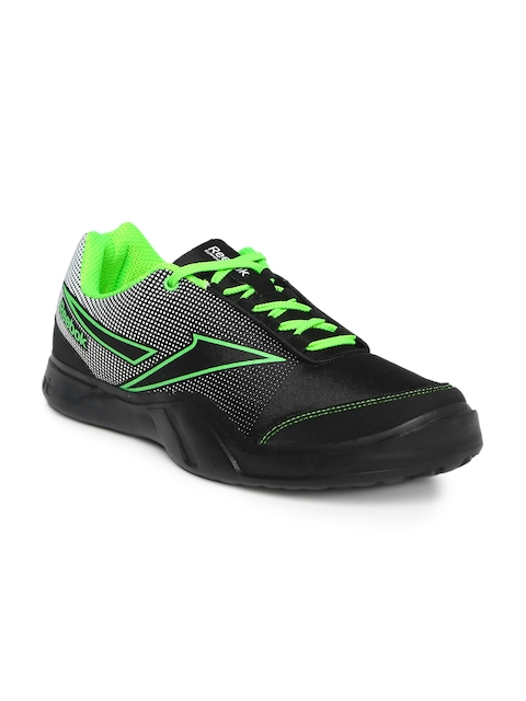 Reebok Men Black Athletic Run 2.0 Running Shoes  available at myntra for Rs.1624