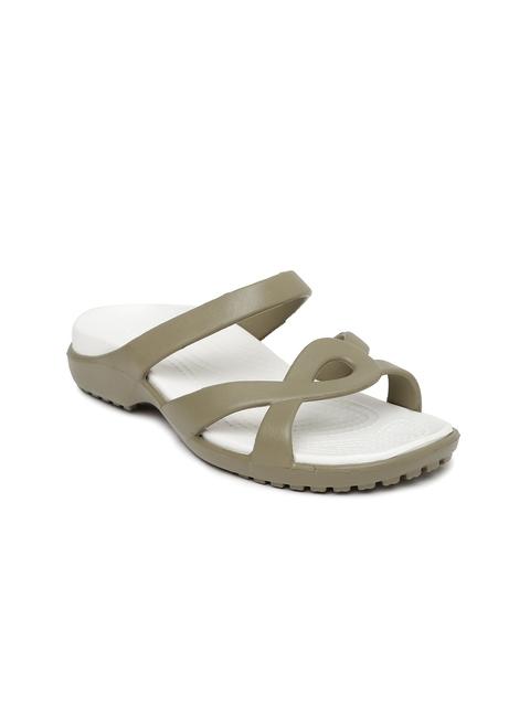 Crocs Women Grey Flats