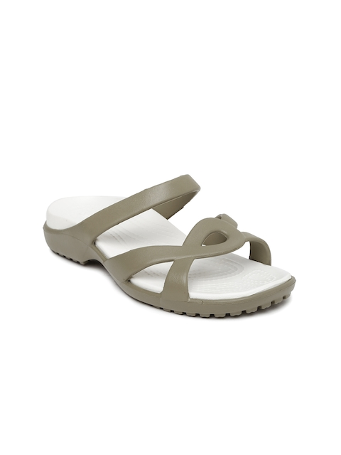 Crocs Women Grey Flats