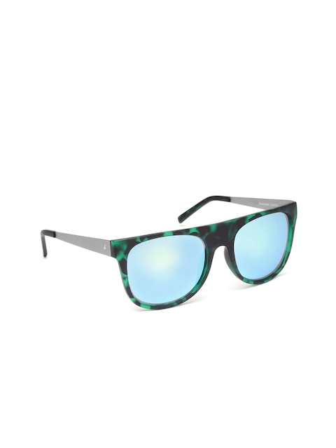 Fastrack Men Square Mirrored Sunglasses C059GR2