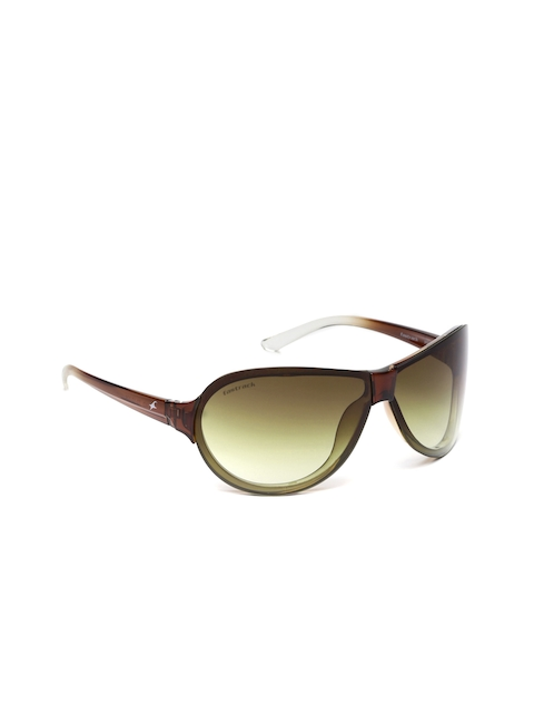 Fastrack Men Shield Sunglasses P349BR2