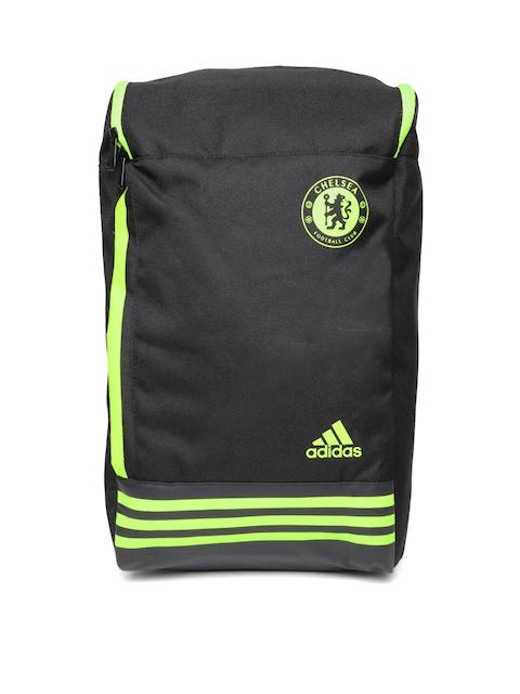 Adidas Unisex Black Chelsea FC Backpack