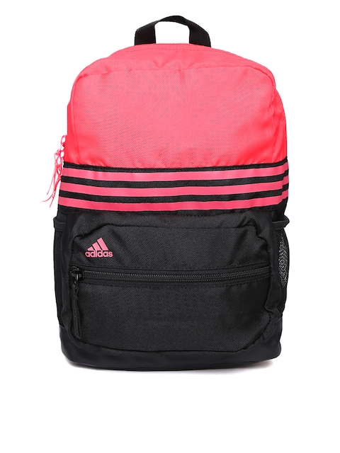 Adidas Unisex Pink ASBP XS 3S Backpack  available at myntra for Rs.989