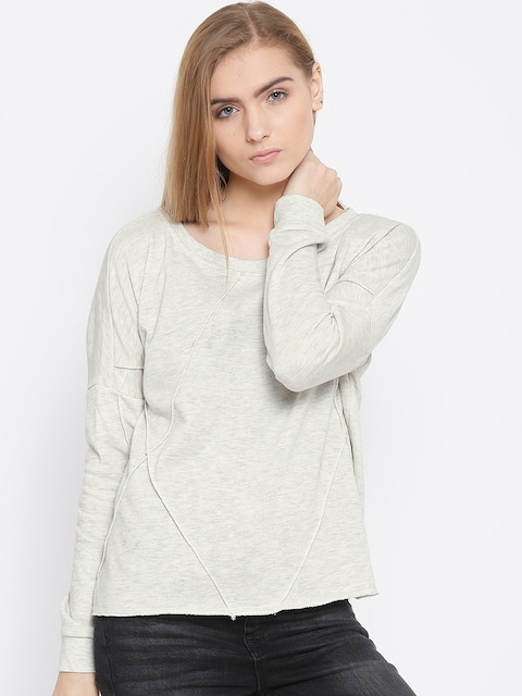 Vero Moda Off-White Sweatshirt