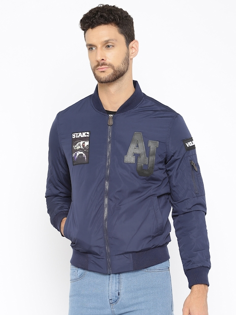 The Indian Garage Co. Navy Bomber Jacket
