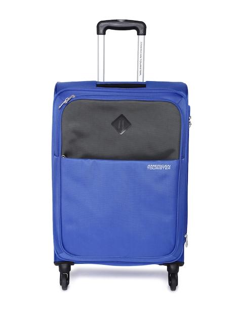 AMERICAN TOURISTER Unisex Blue Medium Tahoe Trolley Bag