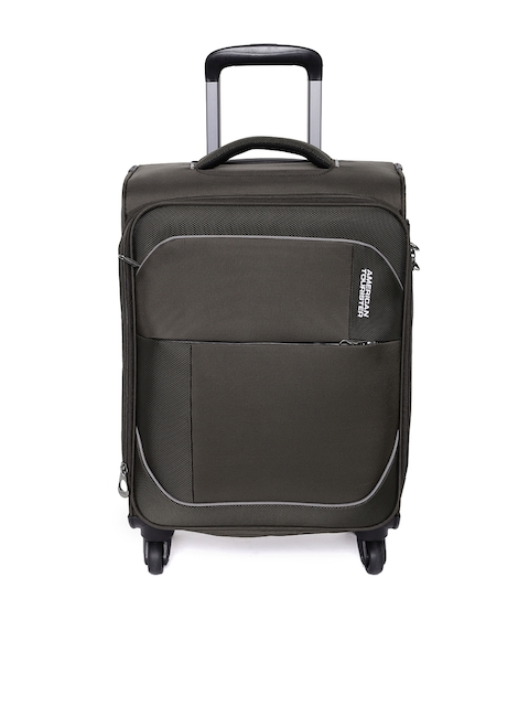 AMERICAN TOURISTER Unisex Brown Small Trolley Bag