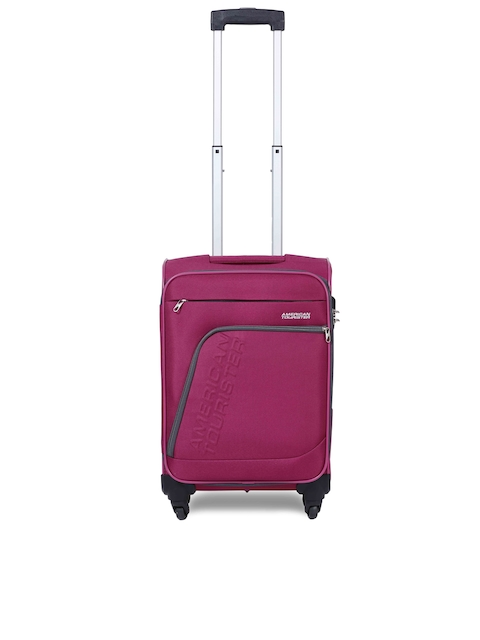 AMERICAN TOURISTER Unisex Purple Medium Trolley Bag