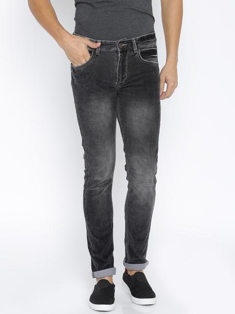 SPYKAR Men Grey Stretchable Jeans