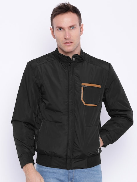 Nature Casuals Black Padded Jacket