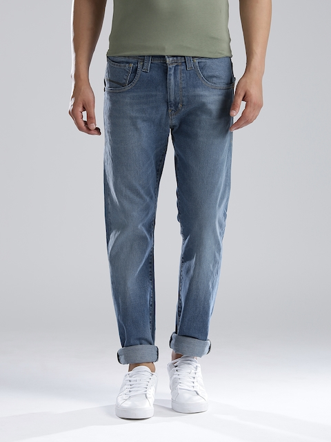 Levi's Men Blue Slim Straight Fit Stretchable Jeans  available at myntra for Rs.2404