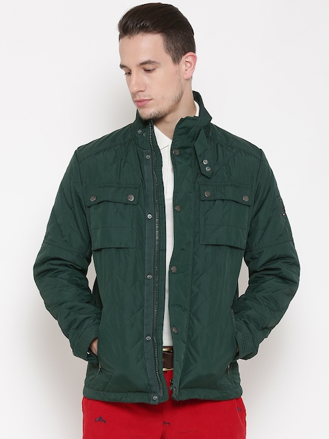 Tommy Hilfiger Green Quilted Jacket