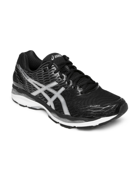 ASICS Men Black GEL-NIMBUS 18 Running Shoes