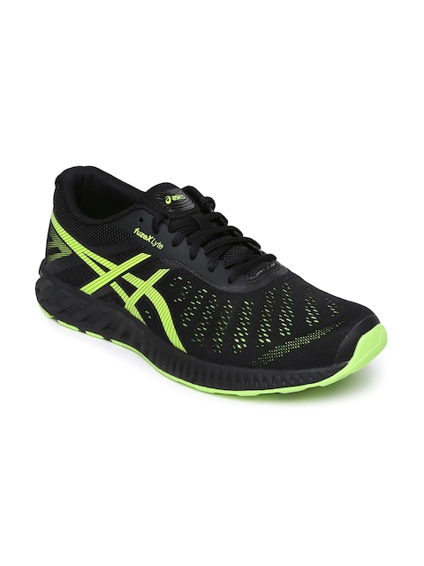 ASICS Men Black FuzeX Lyte Running Shoes