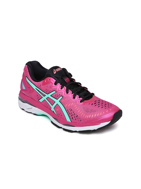 ASICS Women Pink Gel Kayano 23 Running Shoes