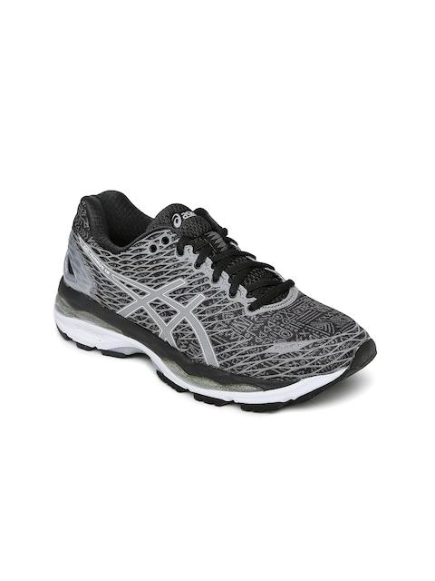 ASICS Women Grey Gel Nimbus 18 Lite Show Running Shoes