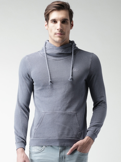 ALCOTT Blue Hooded Sweatshirt