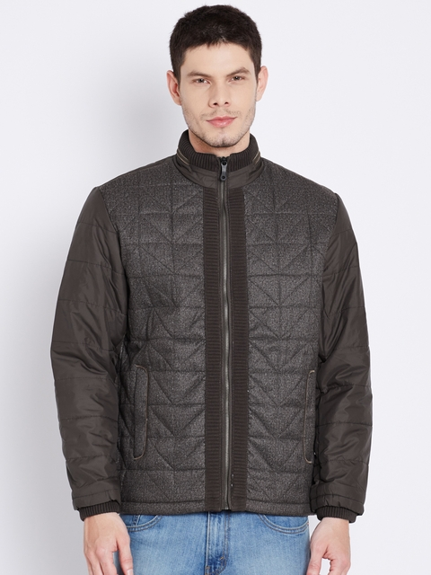 Fort Collins Brown Padded Quilted Jacket