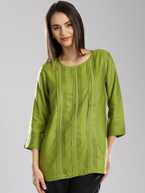 Fabindia Green Kurti
