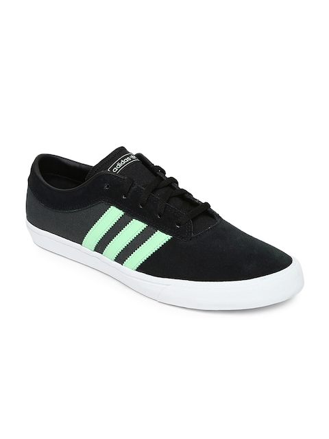 Adidas Originals Men Black Colourblocked Sellwood Skateboard Shoes  available at myntra for Rs.1999