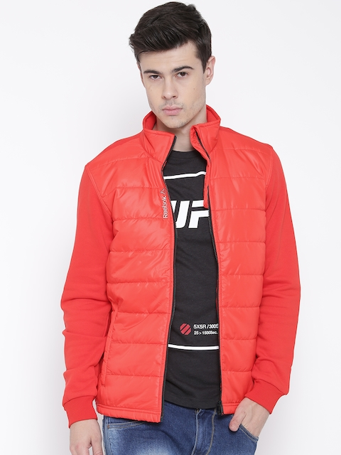 Reebok Red M'S Core Quilted Slim Jacket
