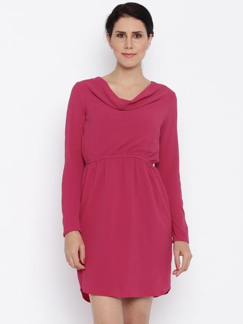 Van Heusen Woman Women Pink A-Line Dress