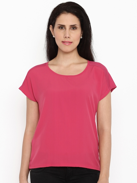f88fe7b558f Van Heusen Woman Women Pink Top