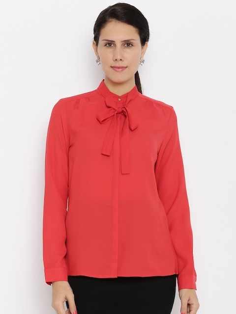 Van Heusen Woman Women Red Top