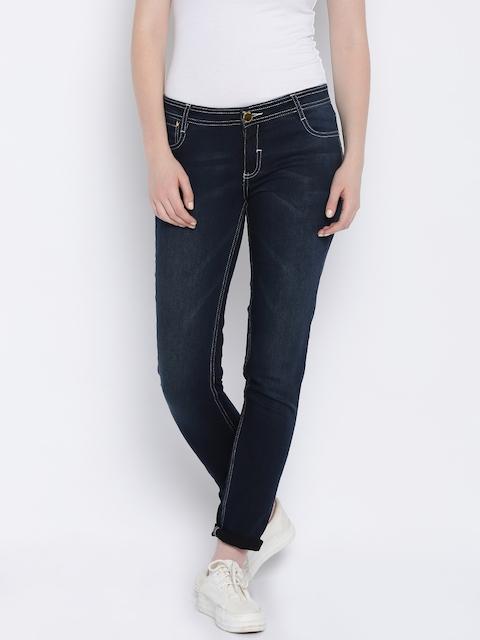 Van Heusen Woman Blue Skinny Fit Mid-Rise Jeans
