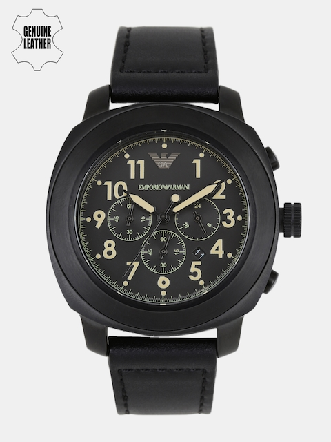 Emporio Armani Men Black Analogue Watch AR6061