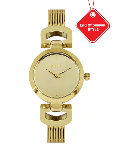 DKNY Women Gold-Toned Dial Watch NY2101I