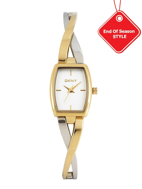 DKNY Women White Dial Watch NY2235I